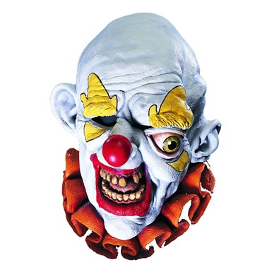 Adult Freako Clown Halloween Mask