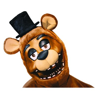 Adult Freddy Fazebear 3/4 Mask – Five Night's at Freddy's