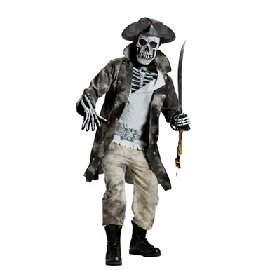 Adult Ghost Pirate Costume