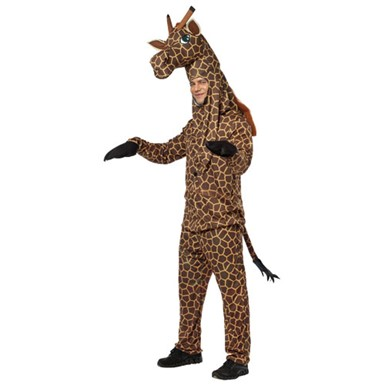 Adult Giraffe Halloween Tall Zoo Animal Costume