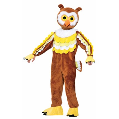 Adult Give A Hoot Owl Costume Size Standard