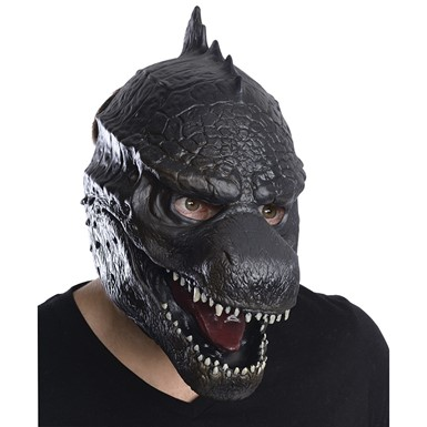 Adult Godzilla 3/4 Vinyl Halloween Mask