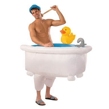 Adult Good Clean Fun Inflatable Bathtub Costume