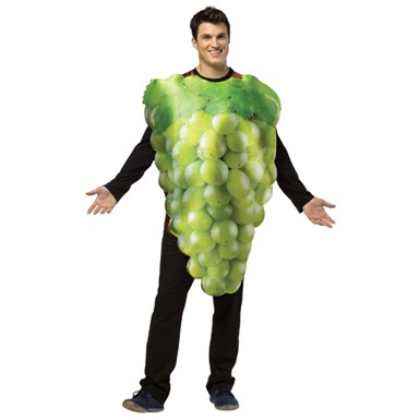 Adult Green Grapes Halloween Costume