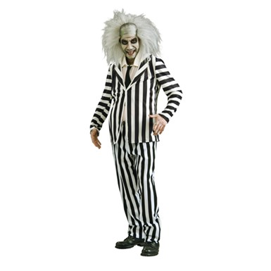 Adult Halloween Beetlejuice Costume - Mens