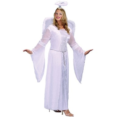 Adult Heavenly Angel Costume - Plus Size