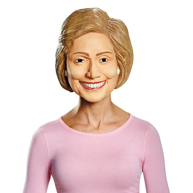 Adult Hillary Clinton Deluxe Halloween Mask