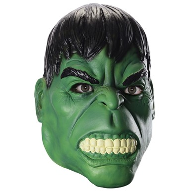 Adult Hulk 3/4 Halloween Mask