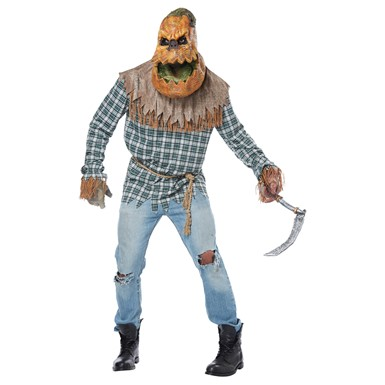 Adult Hunted Harvest Pumpkin Halloween Costume