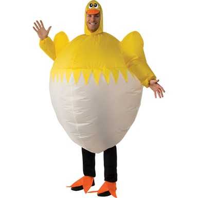 Adult Inflatable Chick Halloween Costume size Standard