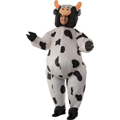 Adult Inflatable Cow Halloween Costume size Standard