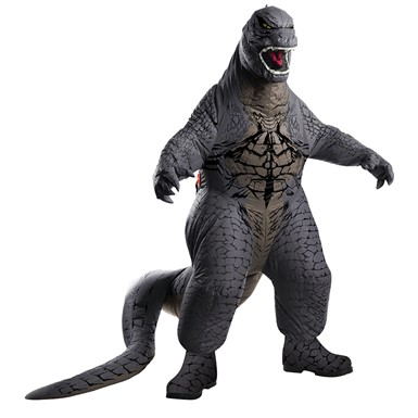 Adult Inflatable Deluxe Godzilla Halloween Costume