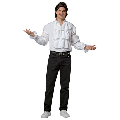 Adult Jerry Seinfeld Puffy Shirt Halloween Costume