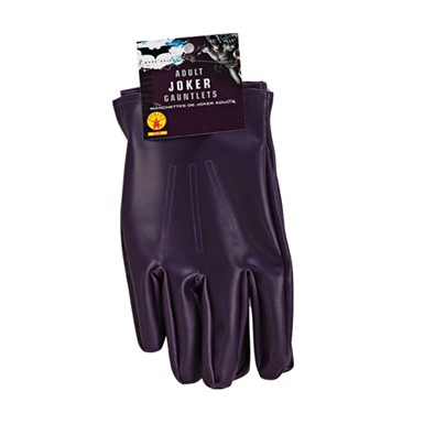 Adult Joker Gloves - Batman