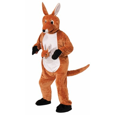 Adult Jumping Jenny The Kangaroo Costume Size Standard