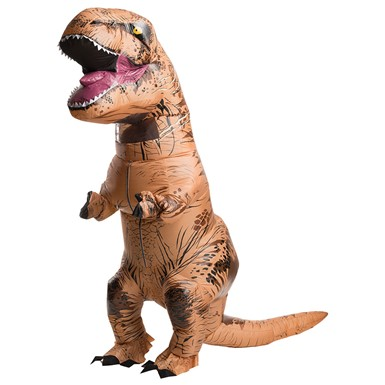 Adult Jurassic World Inflatable T-Rex Standard Costume