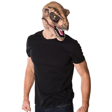 Adult Jurassic World T-Rex 3/4 Halloween Mask