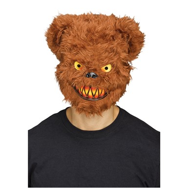 Adult Killer Brown Bear Mask