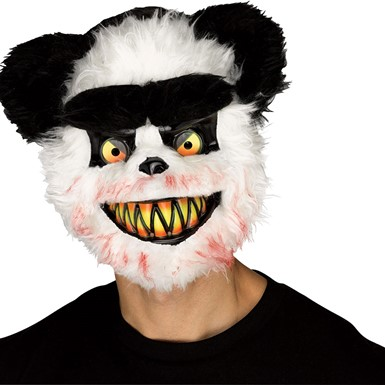 Adult Killer Panda Halloween Mask