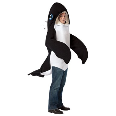 Adult Killer Whale Halloween Marine Animal Costume