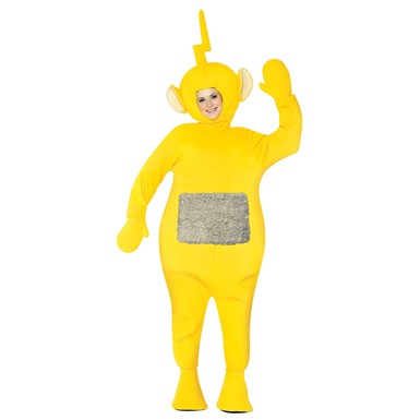 Adult Laa-Laa Teletubbies Costume