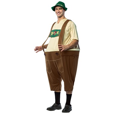 Adult Lederhosen Hoopster German Costume