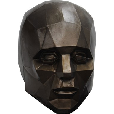 Adult Low Poly Portrait Geometric Mask
