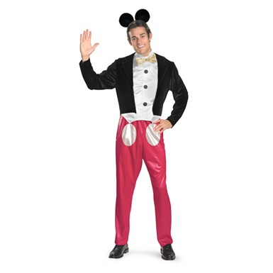 Adult Mickey Mouse Mens Disney Halloween Costume 42-46 XL
