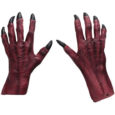 Adult Monster Claws – Red