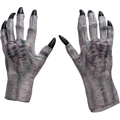 Adult Monster Claws – White