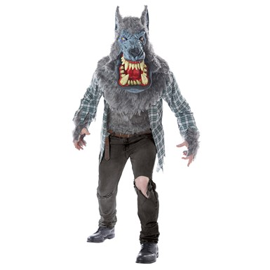Adult Monster Wolf Beast Halloween Costume
