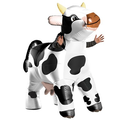Adult Moo Moo Inflatable Cow Costume size Standard