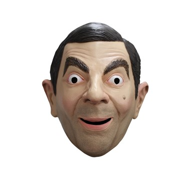 Adult Mr. Bean Costume Funny Mask