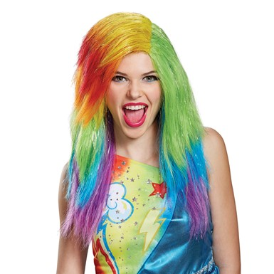 Adult My Little Pony Movie Rainbow Dash Wig