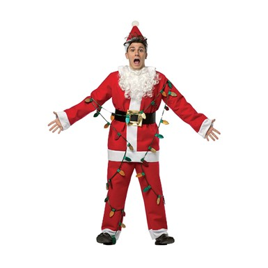Adult National Lampoon's Christmas Vacation Santa Costume
