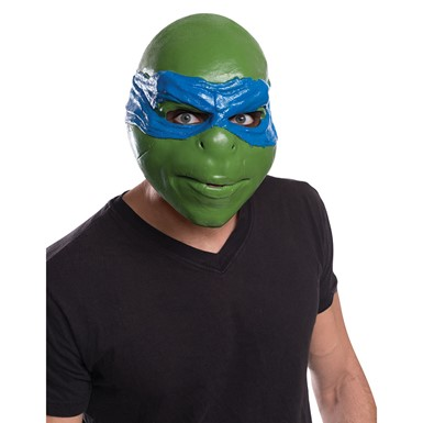 Adult Ninja Turtles Leonardo 3/4 Halloween Mask