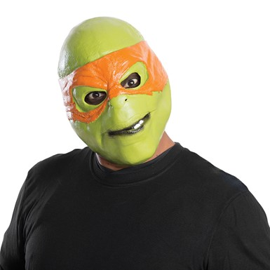 Adult Ninja Turtles Michelangelo 3/4 Mask