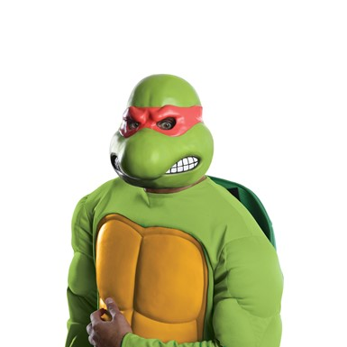 Adult Ninja Turtles Raphael Vinyl Mask