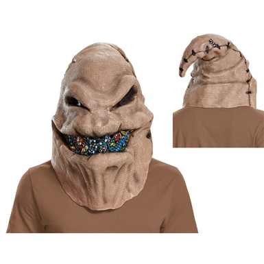 Adult Oogie Boogie Mask – Nightmare Before Xmas