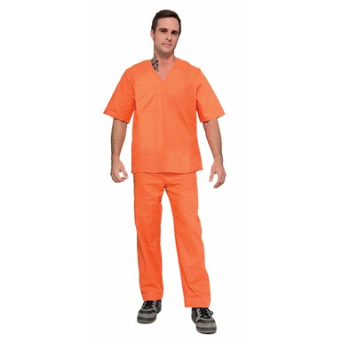 Adult Orange Prisoner Suit