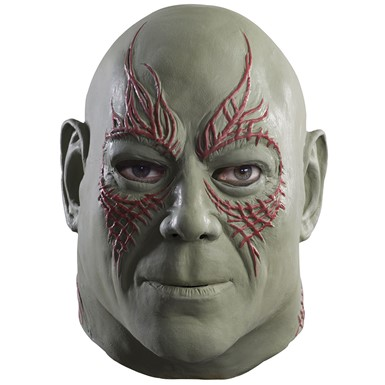 Adult Overhead Drax the Destroyer Halloween Mask