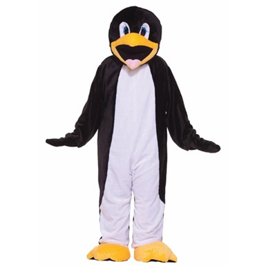 Adult Penguin Mascot Halloween Costume