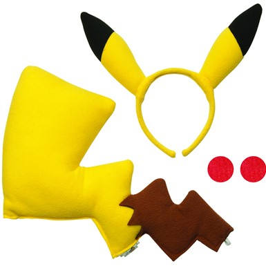 Adult Pikachu Accessory Kit – Pokemon