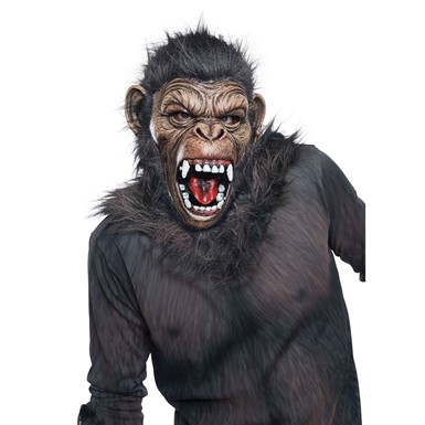 Adult Planet of the Apes Caesar Halloween Mask