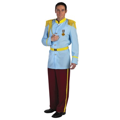 Adult Prince Charming Costume - Disney Prestige