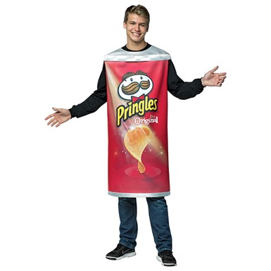 Adult Pringles Can Halloween Costume