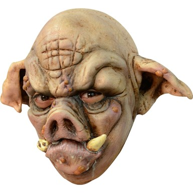 Adult Rabid Pig Halloween Mask