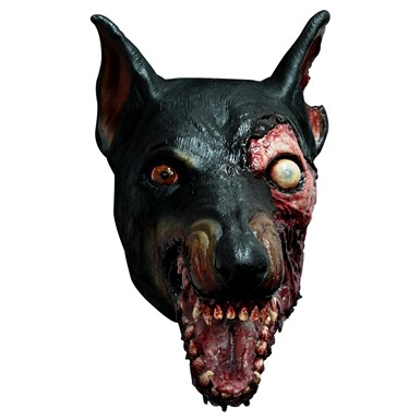 Adult Resident Evil Zombie Dog Latex Mask