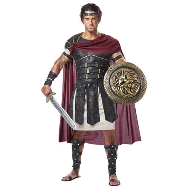 Adult Roman Gladiator Mens Halloween Costume