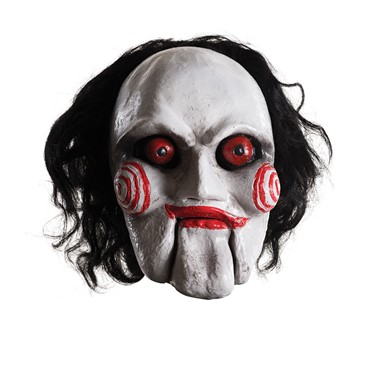 Adult Saw Deluxe Billy Latex Mask